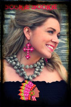 ❥ Sookie Sookie jewelry- Love the earrings and silver necklace!