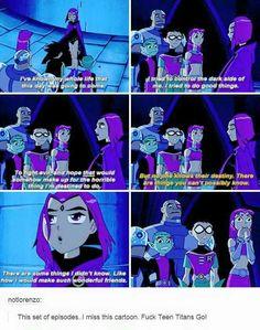 Teen Titans Raven porr komiska