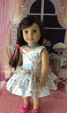 A personal favorite from my Etsy shop https://www.etsy.com/listing/263865685/american-girl-doll-clothes-i-love-paris