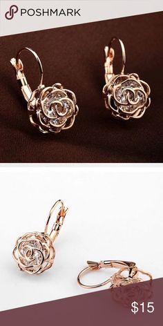 A New Alloy Flower Earrings A New Alloy Flower Earrings Jewelry Earrings