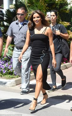 Here she comes! Eva Longoria soon reminded her fans what she was made of as she went for a...