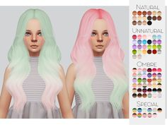 TS4 Child Hair Retexture 09 - Leahlillith's Ophelia• 90 Colors • Retexture • Thumbnail • Standalone The beautiful Mesh is by LeahLillith But was converted by me, you need both My Retexture and The Mesh for this to show up!Go here to download my other...