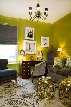 Wohnideen Wohnzimmer-rot blau-modern klassisch   Haus   Pinterest ...