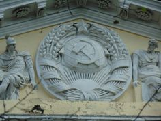 Stalinist, Back In The Ussr, Socialist Realism, Soviet Union, Cool Photos, Lion Sculpture, Architecture, Sociology, War