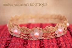 Newborn Baby Girls Vintage Style Antique by AndreasPropBoutique, £6.50