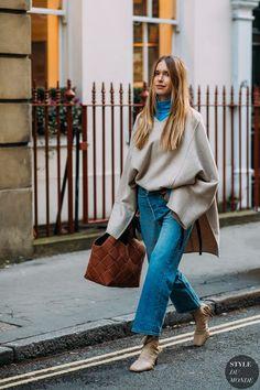 London FW 2018 Street Style: Pernille Teisbaek