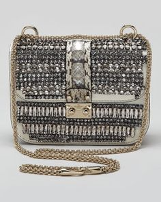 Valentino Small Glam Crystal-Covered...    $3,795.00