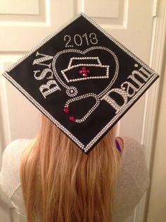 Nursing school graduation cap!!!!!!!!! It's finally finished! by jeanette