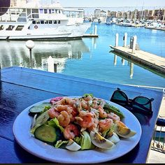 This could be yours at #KillerShrimp!  #KillerSeafoodSalad #MarinaDelRey #KillerView  Image posted to Instagram by @robinrandolph