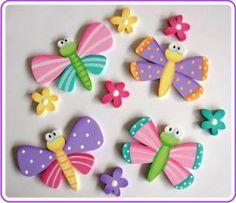 ARTE DECORACIÓN: INFANTILES Foam Crafts, Diy And Crafts, Crafts For Kids, Arts And Crafts, Paper Crafts, Arte Country, Country Crafts, Tole Painting, Painting On Wood