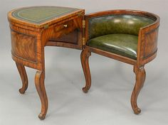 Maitland Smith table, converts to writing table an - by Nadeau's Auction Gallery