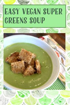 My Recipes, Gluten Free Recipes, Non Dairy Butter, Cup Of Soup, Green Soup, Broccoli Soup, Super Greens, Vegan Vegetarian, Eat