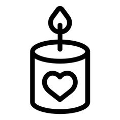 Candle - Free icon from IconBros