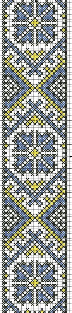 Kraaltjes weven patroon
