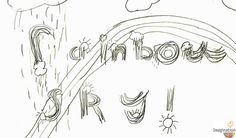 Get kids writing with fancy lettering . . . bubble letters, rainbow letters, drippy letters, & more.