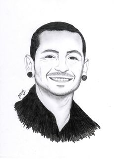 Chester Bennigton drawing :)