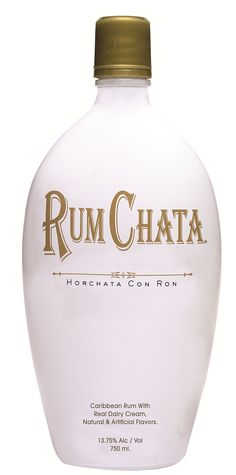 Say what?!!  Boozy Horchata = RumChata