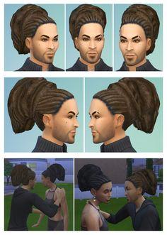 Rasta Bun Ponytail for Both at Birksches Sims Blog via Sims 4 Updates