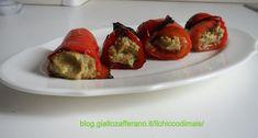 Involtini di peperoni ripieni di tonno - http://blog.giallozafferano.it/ilchiccodimais/involtini-di-peperoni-ripieni-di-tonno/