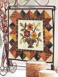 What a little treasure by Lori Smith!  The applique is darling!