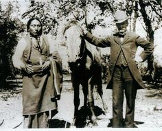 Comanche man, no date