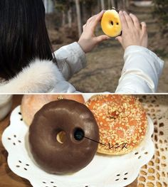 Chocolate Donut Camera | 22 Ways to Go Nuts for Donuts!