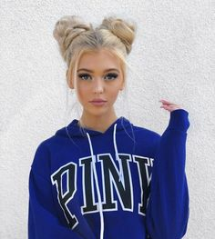 Image about girl in Loren Gray by lit icons on We Heart It Easy Hairstyles For Long Hair, Pretty Hairstyles, Braided Hairstyles, Gray Hairstyles, Long Haircuts, 2 Buns Hairstyle, Toddler Hairstyles, School Hairstyles, Popular Hairstyles