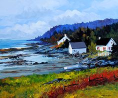 Artist: Christian Bergeron Landscapes, Christian, Paintings, Oil, Mountains, Gifts, Inspiration, Ideas, Picture Wall