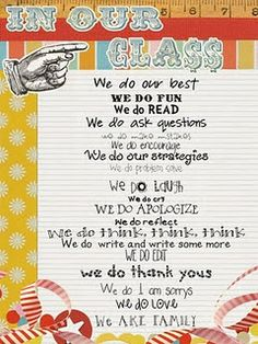 love this classroom rules poster