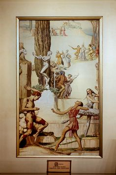 Myer Mural Hall, Melbourne - Mural: Spring and the Dance Through the Centuries.