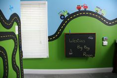 lego table folded up in transportation room - has chalk board paint on it so it is a chalk board when folded up | Flickr - Photo Sharing!