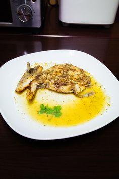 香草鱈魚扒伴檸檬汁 MK2 #homemade