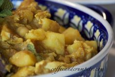 MURGH CHOLAY - chicken and chick pea curry