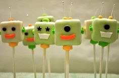 [Inspiration] Robot Party Sweets - Spaceships and Laser Beams