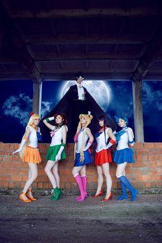 Moon by Moonychka. Jupiter by Leto. Venus by Akemi. Mars by Amu. Mercury by Haruhi. Tuxedo Mask by Kivinidze. Chibiusa by Ikukihiko. Petz by Yallga. Koan by Saori. Calaveras by HallySama. Berthier by Mikuru.