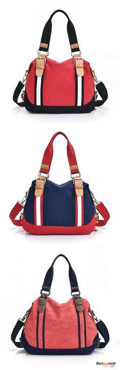 US$38.99+Free shipping. Women Bags, Handbags, Shoulder Bag, Crossbody Bag, Canvas, Casual, Color Block, Large Capacity. Color: Rose, Blue, Khaki. Shop now~