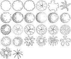 tree sketch landscape architecture - Google Search
