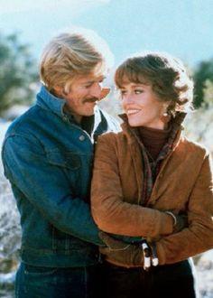"Jane Fonda & Robert Redford "" The Electric Horseman "" 1979"