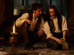 James McAvoy y Daniel Radcliffe en Victor Frankenstein