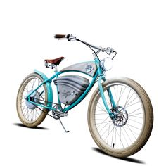"Introducing the ""E-Cruz"" by Vintage Electric / Color = Cola California-based Vintage Electric™ wheeled onto the electric bike scene in August of 2013 with the debut of its flagship model, the E-Tracke"