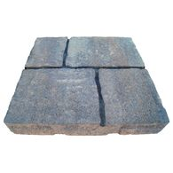 undefined Four cobble Allegheny Concrete Patio Stone (Common: x Actual: x at Lowe's. The four cobble patio stone is a natural cobblestone texture with false joints to give appearance of multiple, smaller stones, it is perfect for patios, Concrete Patios, Flagstone, Canyon Stone, Grey Pavers, Cobblestone Pavers, Polymeric Sand, Patio Blocks, Lawn Edging, White Concrete