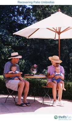 This Is A Guide About Recovering Patio Umbrellas. You Can Save Money And  Conserve Resources
