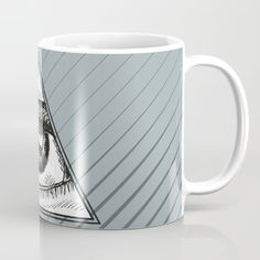 Triangle Eye Mug