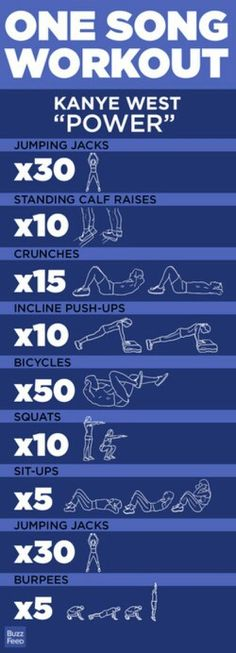 1 song workout