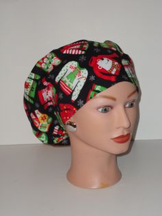 d46c0c4441633 Christmas...Ugly Sweater...OR Scrub Caps Surgical Scrub Cap