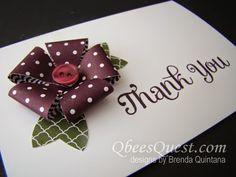 Qbee's Quest: Bow Builder Punch Note Cards