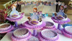 decoracion en telas para fiestas infantiles de princesas - Buscar con Google
