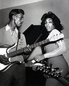 """Who you looking at, Anna Mae?"". IKE & TINA | 1960s"