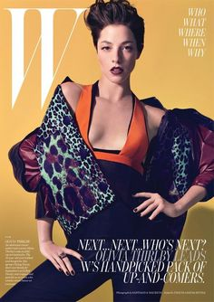 Wild Side Photographed by Craig McDean, styled by Edward Enninful; W magazine May Olivia Thirlby, W Magazine, Magazine Covers, Celebrity Magazines, Image Cover, Fashion Cover, Cover Model, Covergirl, Girl Crushes