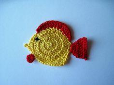 Crochet Tropical Fish
